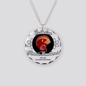 Battalion Atomic Bombers Necklace Circle Charm
