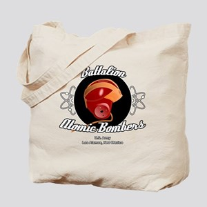Battalion Atomic Bombers Tote Bag