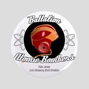 "Battalion Atomic Bombers 3.5"" Button"