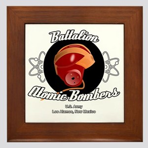 Battalion Atomic Bombers Framed Tile