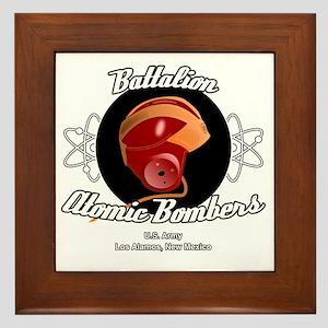 Battalion Atomic Bombers Framed Tile