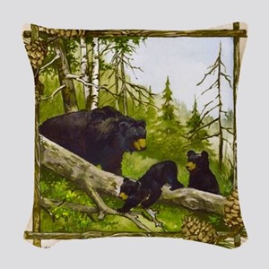 Best Seller Bear Woven Throw Pillow