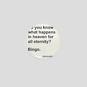 Bingo in Heaven Mini Button