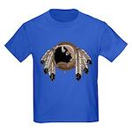 First Nations Metis Art Kid's T-Shirt Dark