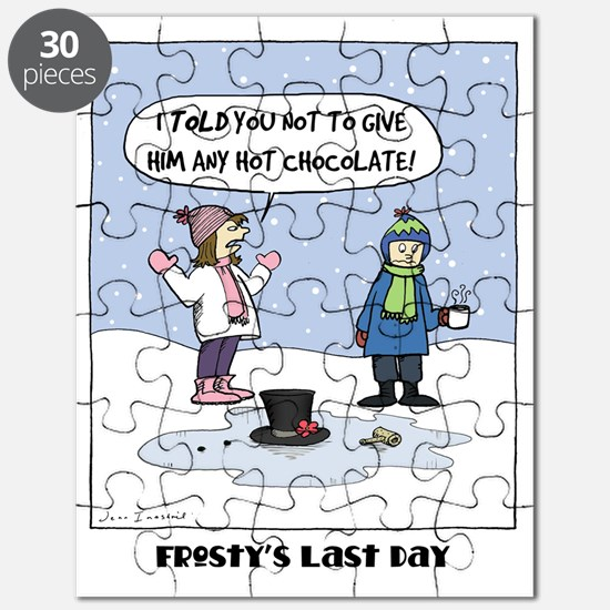 Frostys Last Day Puzzle
