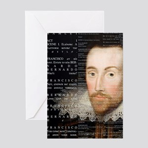 Shakespeare, Hamlet, Greeting Card