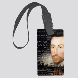 Shakespeare, Hamlet, Large Luggage Tag