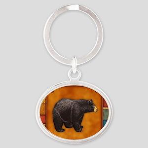 Bear Best Seller Oval Keychain