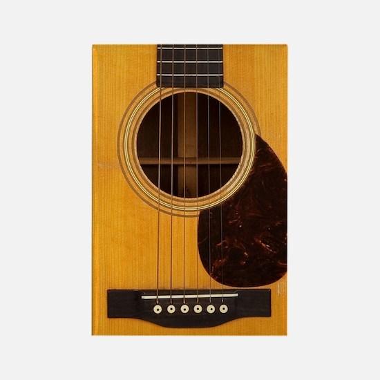 Acoustic Guitar Rectangle Magnet