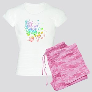 Colored bubbles Women's Light Pajamas