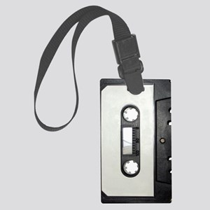 Cassette Tape Large Luggage Tag
