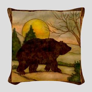 Bear Best Seller Woven Throw Pillow