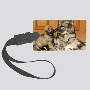 00cover-tuck-pups Large Luggage Tag