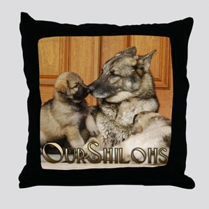 00cover-tuck-pups Throw Pillow