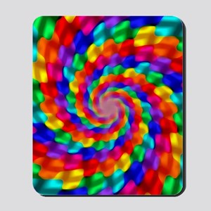 Psychedelic Spiral Mousepad