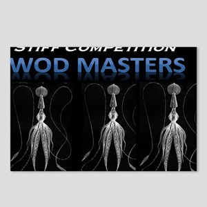 WODMasters OctoMasters Postcards (Package of 8)