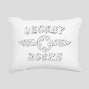 CROSBY ROCKS Rectangular Canvas Pillow