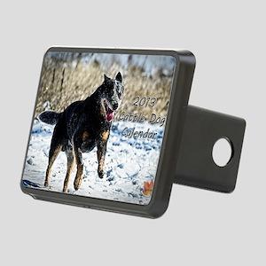 Cattle Dog Calendar 2013 Rectangular Hitch Cover