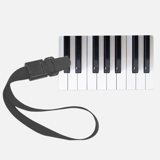 Piano Keyboard 5 Luggage Tag