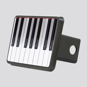 Piano Keyboard 5 Rectangular Hitch Cover