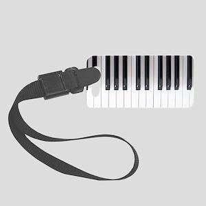Piano Keyboard 6 Small Luggage Tag