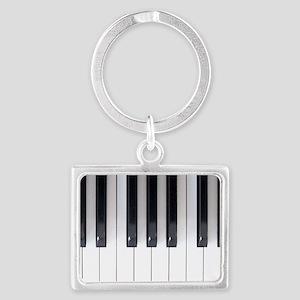 Keyboard 7 Landscape Keychain