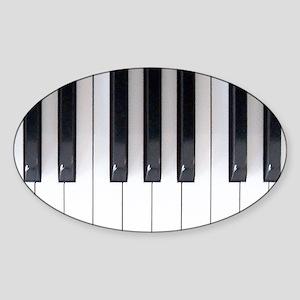 Keyboard 7 Sticker (Oval)