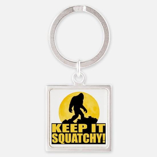 kis Square Keychain