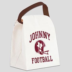 Johnny Football Canvas Lunch Bag