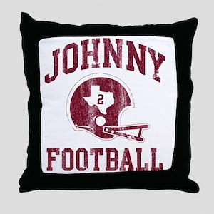 Johnny Football Throw Pillow