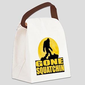 gone squatchin Canvas Lunch Bag