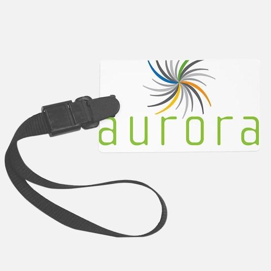 Aurora Logo Luggage Tag