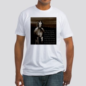 The Horse Fitted T-Shirt