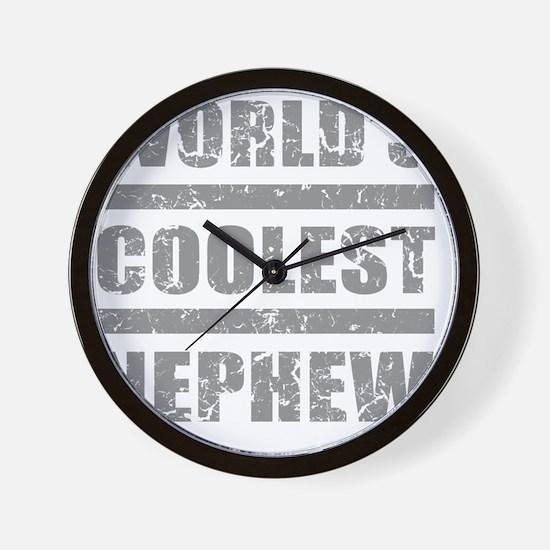 Worlds Coolest Nephew Wall Clock
