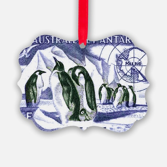 1956 French Antarctic Adelie Peng Ornament