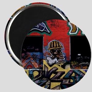 Los Angeles Graffiti StreetArt Magnet