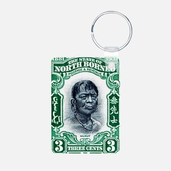 1931 North Borneo Headhunt Keychains
