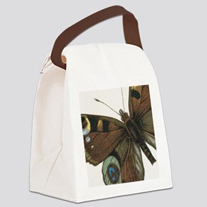 Butterfly Up Close Canvas Lunch Bag