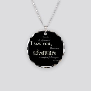 As soon as I saw you: Advent Necklace Circle Charm