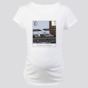 Control Group Mice Maternity T-Shirt