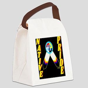 NATIVE PRIDE Canvas Lunch Bag