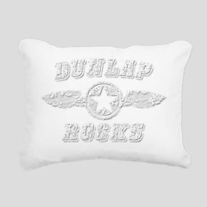 DUNLAP ROCKS Rectangular Canvas Pillow