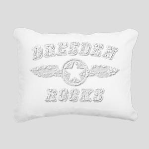 DRESDEN ROCKS Rectangular Canvas Pillow