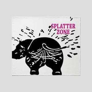 Splatter Zone Throw Blanket