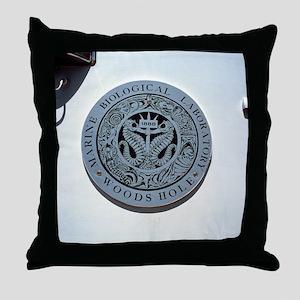Woods Hole Marine Biology Laboratory Throw Pillow