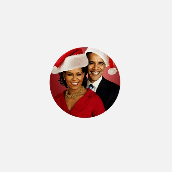 Obama Christmas Mini Button