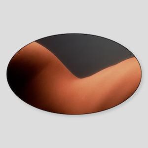 Woman's waist Sticker (Oval)