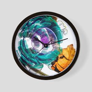 Animal cell, artwork Wall Clock