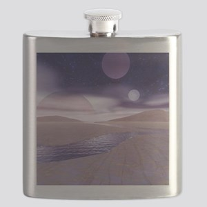 Alien landscape Flask