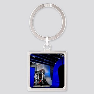 Air conditioning pipes Square Keychain